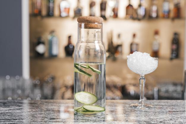 gin med agurk