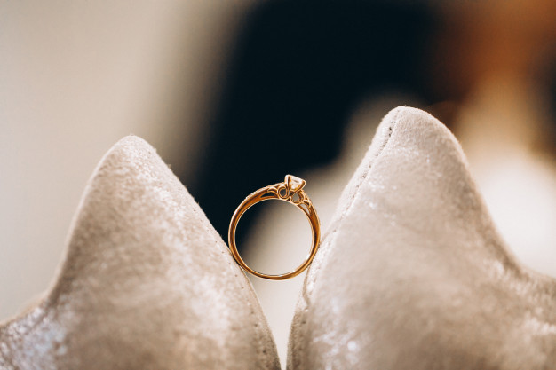 hvidguld ring